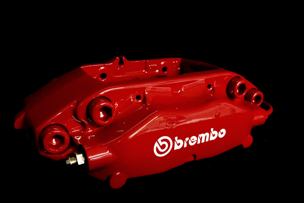 Evo Brembo Red caliper 1.1