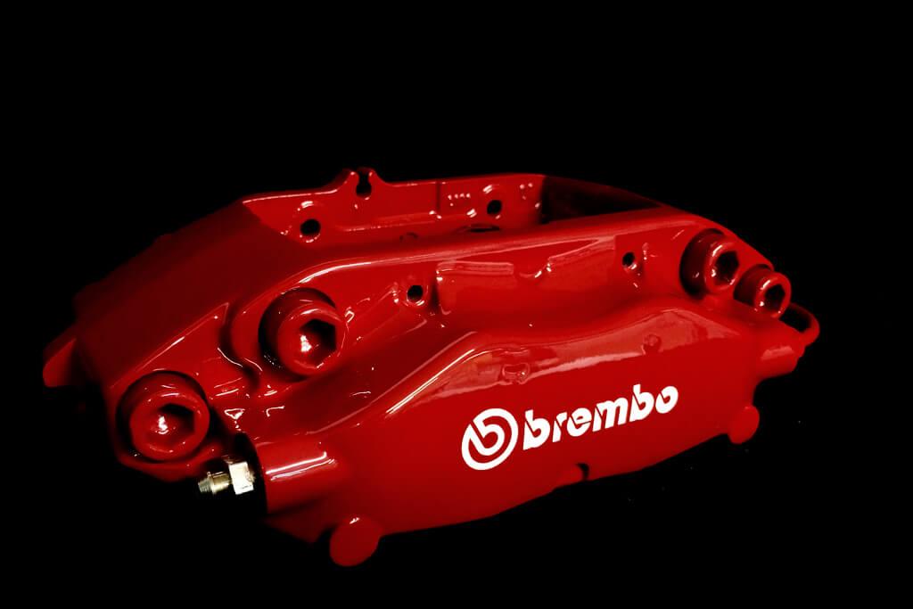 Mitsubishi Evo Brembo RED brakes