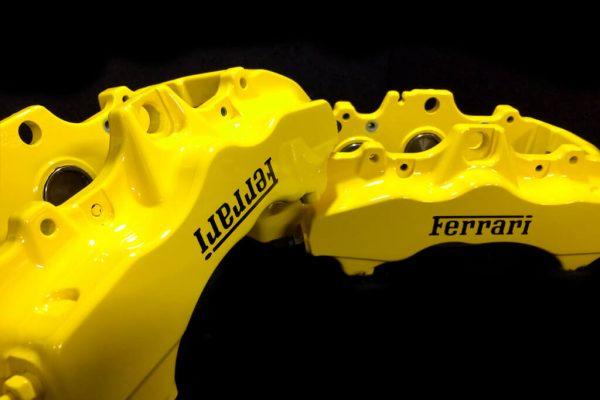 Ferrari yellow