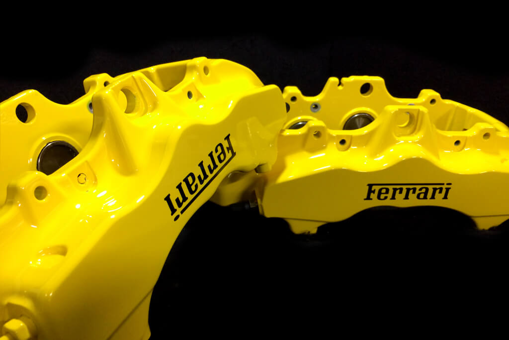 Professional Yellow Brake Caliper Paint. Pay by PayPal