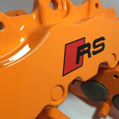 Ford Focur RS Orange Brake Caliper Paint