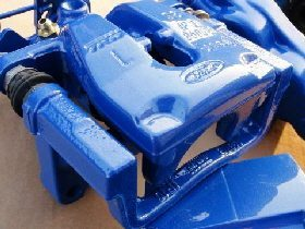 Ford Focus caliper after refurbishment