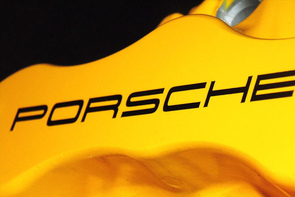 porsche yellow colour