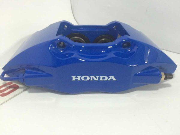 Royal Blue Honda Brake Caliper