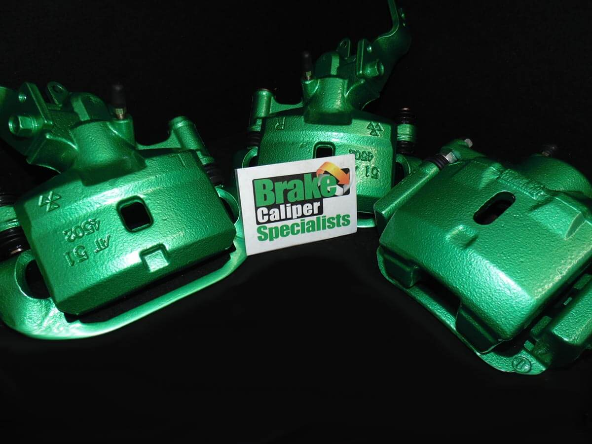 Green Toyota MR2 Brake Calipers