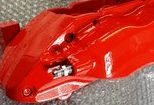 red brake caliper paint