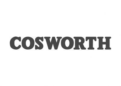Cosworth Stencil
