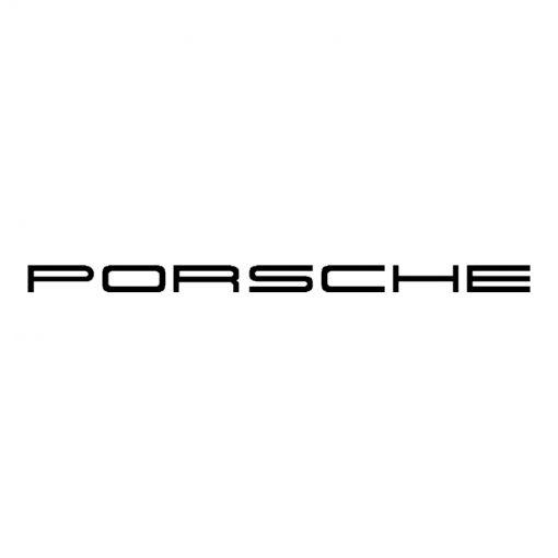 Porsche brake caliper logo design