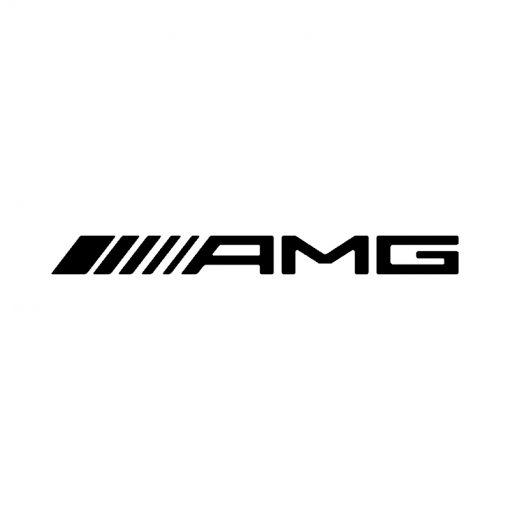 AMG (straight) brake caliper logo design