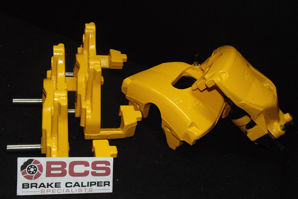 brake caliper painting service after BMW