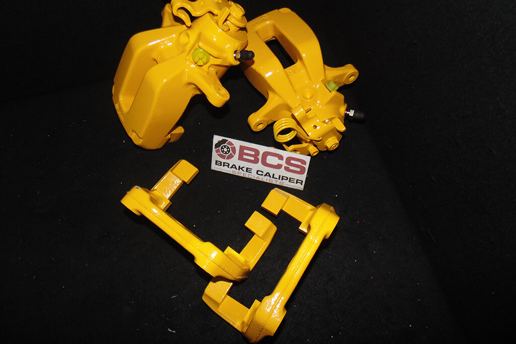 brake caliper painting service after VXR