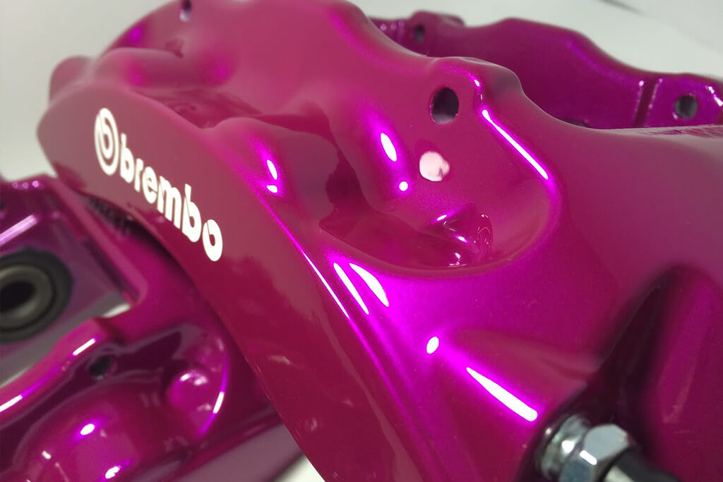 The most beautifully refurbished brake calipers in the world
