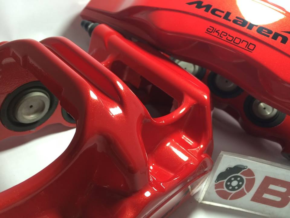 high-end brake caliper painting service