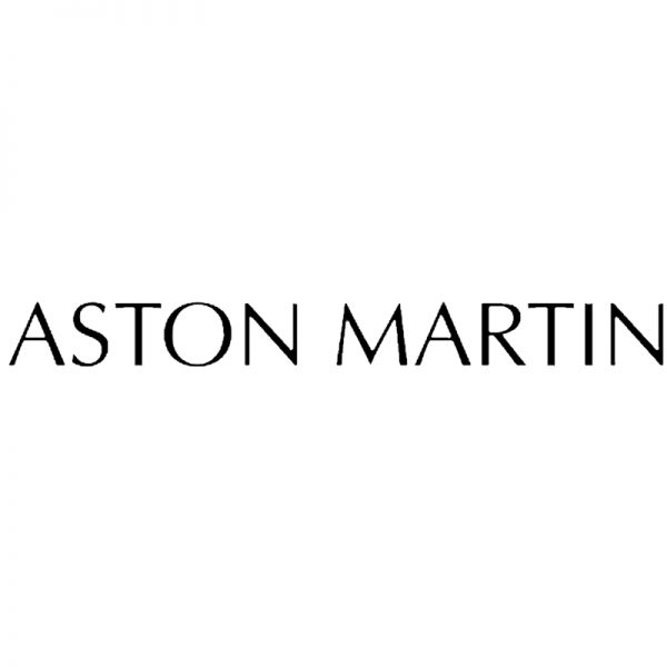 Aston Martin brake caliper decal logo