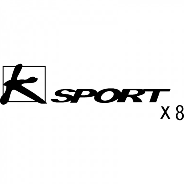 K-Sport X8 brake caliper decal