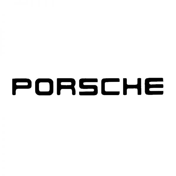 Porsche (old) brake caliper logo design