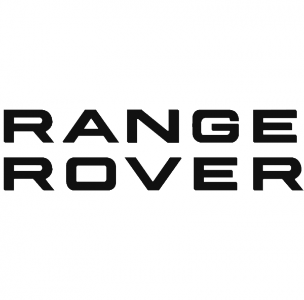 Range Rover (top and bottom) brake caliper logo design