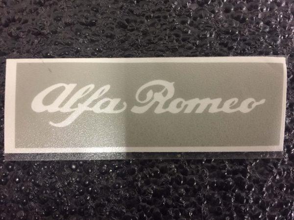 Alfa Romeo brake caliper stencil