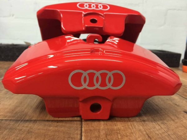 brake caliper refurbishment audi red