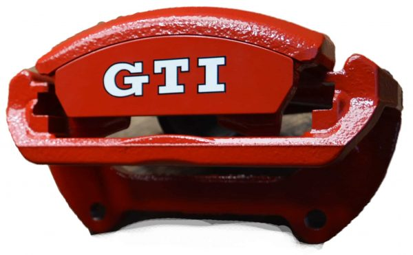 red brake caliper GTi
