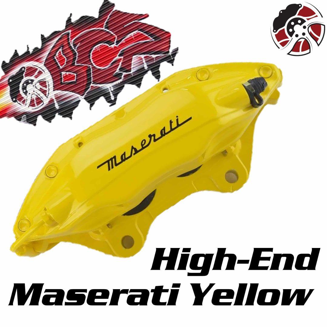 Maserati Yellow